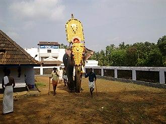 Choorakkottukavu Bhagavathy Temple - Image: Sree Rama Navami 2011 (Ramanchira temple, Thrissur) 12042011814