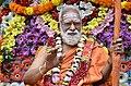 Sri Siddheswarananda Bharati Swami during Sahasra purna chandrodayam function.jpg