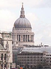 Katedrála svatého Pavla v Londýně.