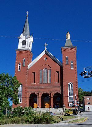St. Anne Church (Berlin, New Hampshire) - Image: St. Anne's Catholic Church Berlin 5
