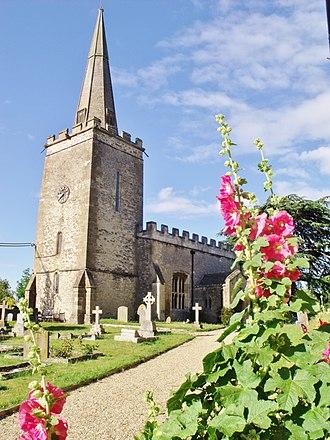 Shellingford - Image: St. Faith's, Shellingford
