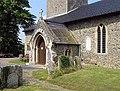 St Andrew's Church, Scole, Norfolk - Porch - geograph.org.uk - 814527.jpg