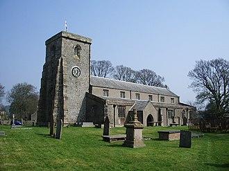 Slaidburn - Image: St Andrews Church, Slaidburn geograph.org.uk 402420
