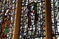 St Frideswide 14th-century window at Christ Church Oxford.jpg