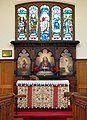 St Gabriel, Havant Road, Walthamstow, London E17 - High altar - geograph.org.uk - 1747530.jpg