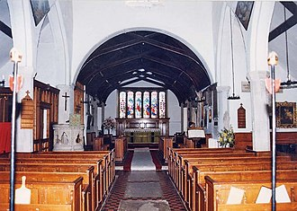 St James' Church, Yarmouth - Image: St James, Yarmouth East end geograph.org.uk 1172276