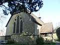 St Mark's Church, Walking Bottom, Peaslake (March 2014) (East End).JPG