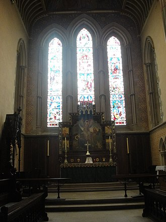 St Mary's Cathedral, Glasgow - Altar of the Cathedral