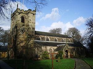 English: St Mary's Parish Church, Penwortham