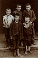 St Mary's Hospital, Plaistow; children from Plaistow. Wellcome V0029082.jpg