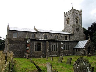 Baconsthorpe - Image: St Mary, Baconsthorpe, Norfolk