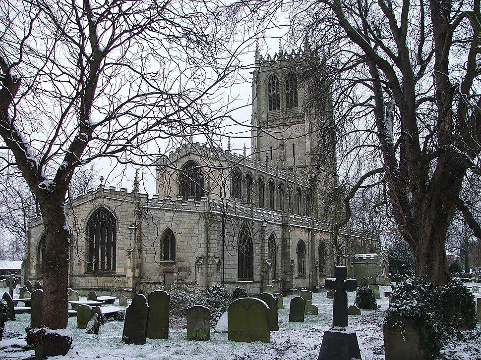 St Marys Church Tickhill Feb-05