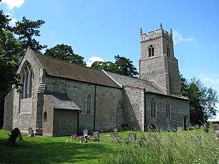 Hockering Human settlement in England