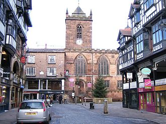 St Peter's Church, Chester - Image: St Peter's Church, Chester 2