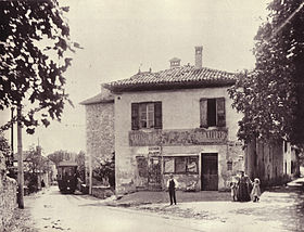 Saint-Vincent-de-Mercuze en 1900