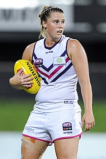 Stacey Barr Australian rules footballer and basketball player