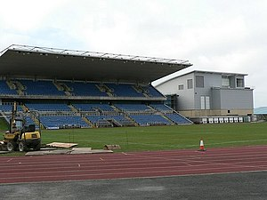 John Charles Centre for Sport - The main stand