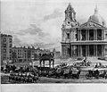 Stadsbild-Nelsons begravning 1806 - Sjöhistoriska museet - O 04261.jpeg