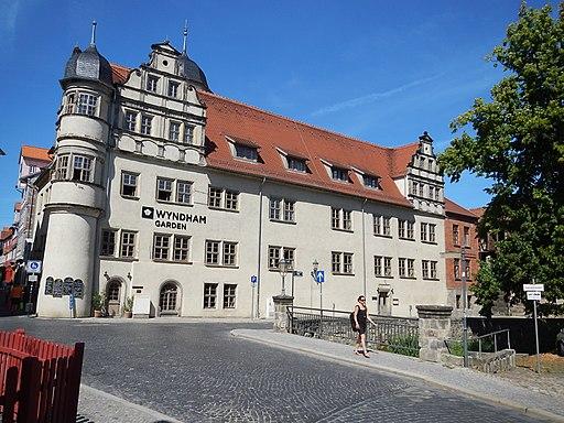 Hagensches Freihaus (Quedlinburger Stadtschloss) Bockstrabe 6 Klink 11 Quedlinburg im Landkreis Harz in Sachsen-Anhalt