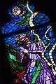 Stained-glass pattern, Saint Vitus Cathedral. Prague, Czech Republic, Western Europe. Jaunuary 8, 2014-4.jpg