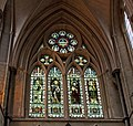 Stained glass window Southwark Cathedral 4 (5136750495).jpg