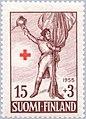 Stamp of Finland - 1955 - Colnect 46214 - Lieutenant Colonel Zacharias Duncker 1774-1809.jpeg