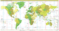 Standard time zones of the world (2011-09) (2).png