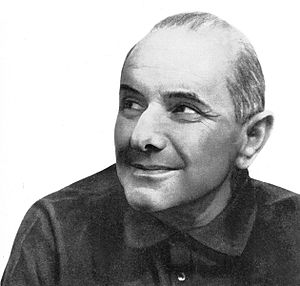 Stanisław Jerzy Lec - Portrait published in 1966
