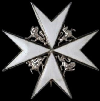 Edward Evans, 1st Baron Mountevans - KStJ breast star