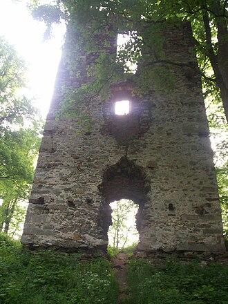 Schaffgotsch family - Image: Stara Kamienica ruiny zamku 1