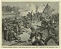 Starke Louisiana Brigade fighting with stones at the embankment near the Deep Cut.jpg