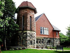 Eastern Michigan University - Starkweather Hall is the oldest building on campus.
