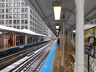 State/Lake station - Image: State Lake Station