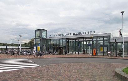 Hoe gaan naar Station Amersfoort Vathorst met het openbaar vervoer - Over de plek
