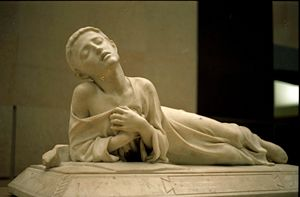 Tarcisius - Alexandre Falguière, Tarcisius, Christian martyr, 1868, musée d'Orsay. Dd