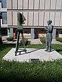 Statue of János Balázs, 2020 Salgótarján.jpg