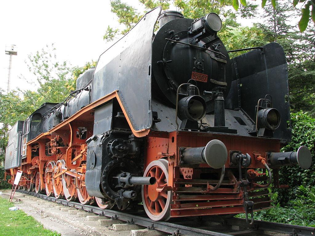 Sehenswürdigkeiten in der Türkei Steam locomotive No.57007 Ankara Museum