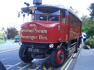 Sentinel Waggon Works - A Sentinel Steam Bus