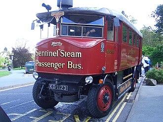 Sentinel Waggon Works - A Sentinel Steam Bus