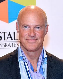 Stefan Sauk på Kristallen-galan 2013.