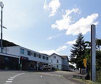 Stein, Aargau - Bahnhof Stein-Säckingen, Gebäude (2012).JPG