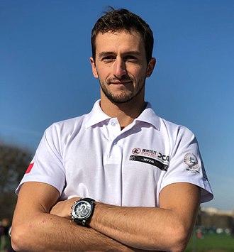 Stéphane Richelmi - Stéphane Richelmi at the 2011 Nürburgring World series by Renault round
