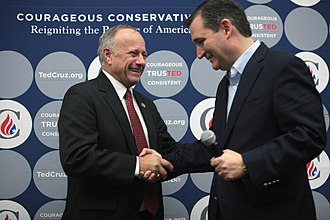 Steve King - King and Ted Cruz in 2015