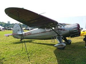 Stinson Aircraft Company - Stinson V77 Reliant