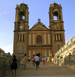 Roman Catholic Archdiocese of Hyderabad - St. Joseph's, the seat of the Archbishop of Hyderabad