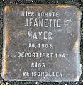 Stolperstein-Jeanette Mayer-Koeln-cc-by-denis-apel.jpg
