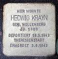 Stolperstein Helmstedter Str 19 (Wilmd) Hedwig Krayn.jpg
