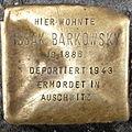 Stolperstein Issak Barkowsky Badstraße 58 0055.JPG