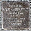 Stolperstein Jagowstr 2 (Moabi) Rosa Halberstadt.jpg