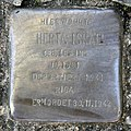 Stolperstein Kreuzritterstr 12a (Frohn) Herta Israel.jpg